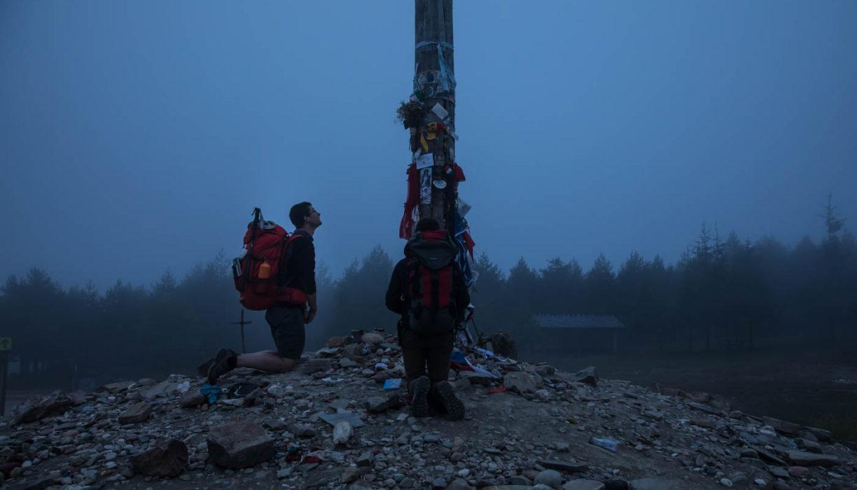 【サンティアゴ巡礼・フランス人の道】64日目:イラゴ峠「鉄の十字架」 フォンセバドン 〜 ポンフェラダ 28km