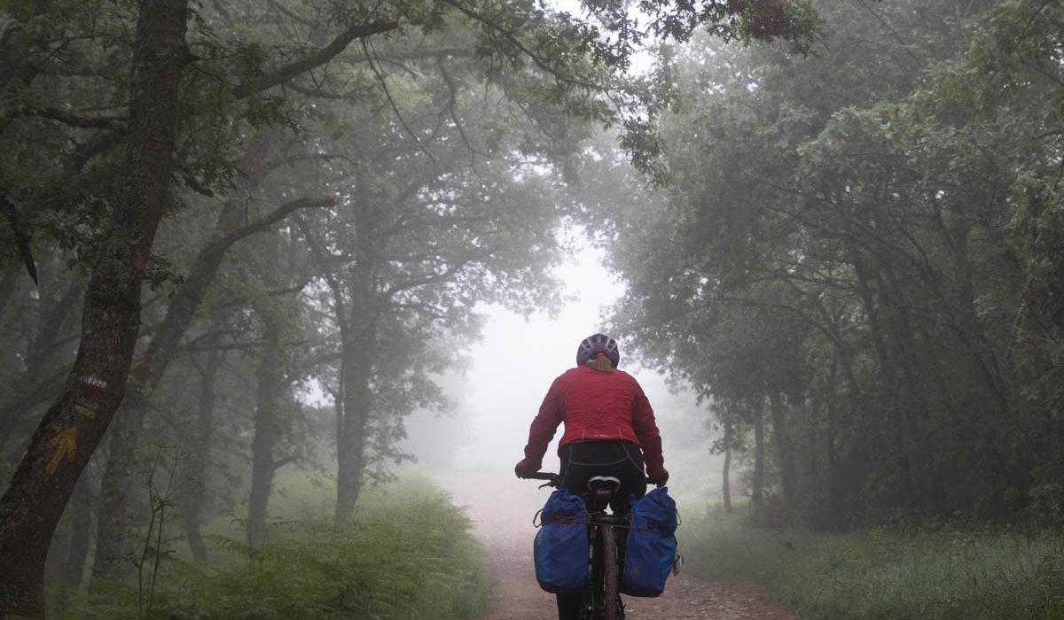 【サンティアゴ巡礼・フランス人の道】49日目:一般的な1日 ベロラド 〜 アヘス 28km