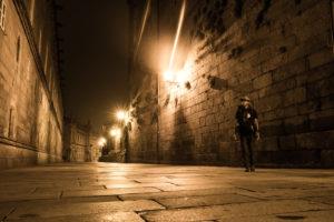 【サンティアゴ巡礼・フランス人の道】74日目:巡礼の締めくくり、フィステーラを目指す サンティアゴ・デ・コンポステーラ〜A Pena and Piaxe 30km
